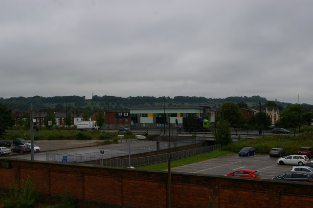 View south from the footbridge, Lincoln Central station
