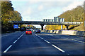 SP6659 : Bridge over the M1 near to Upper Heyford by David Dixon