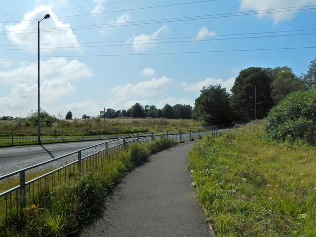 Path beside Parkhouse Road