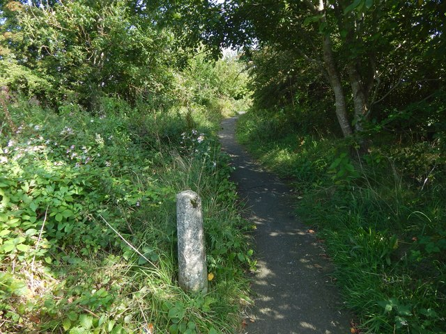 Path from Salterland Road