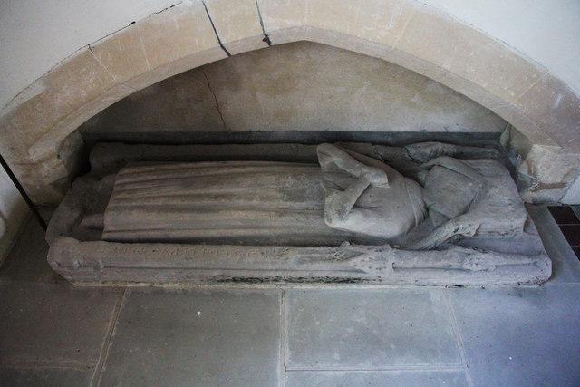 14th century effigy