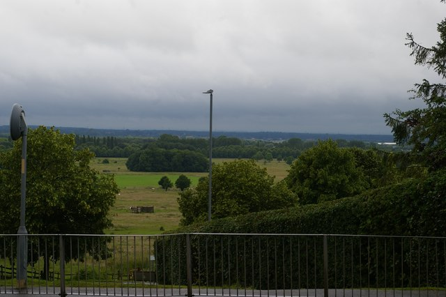 Lincoln: view off Yarborough Road towards West Common