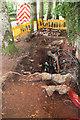 SX8965 : Pavement works, Shiphay Lane by Derek Harper