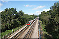TQ1891 : Jubilee Line at Canons Park by Des Blenkinsopp