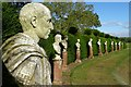 SO8047 : Busts of Roman Emperors by Philip Halling