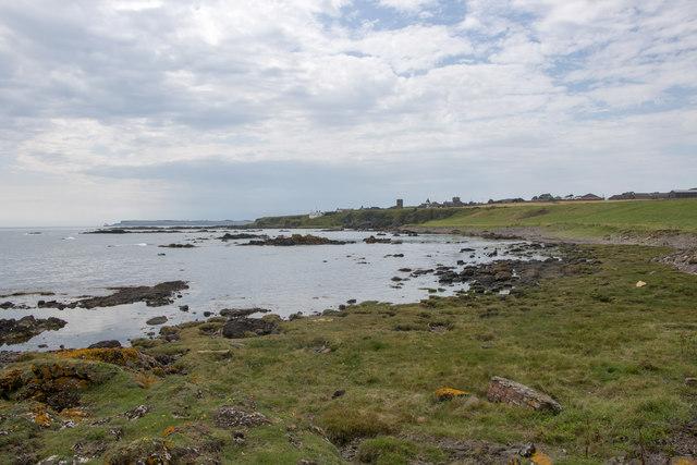 Coastal, rough grazing by Fishtown of Usan