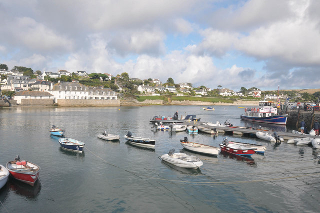 St Mawes from the Harbour