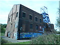 SE3606 : Barnsley Main colliery building, from the north-east by Christine Johnstone