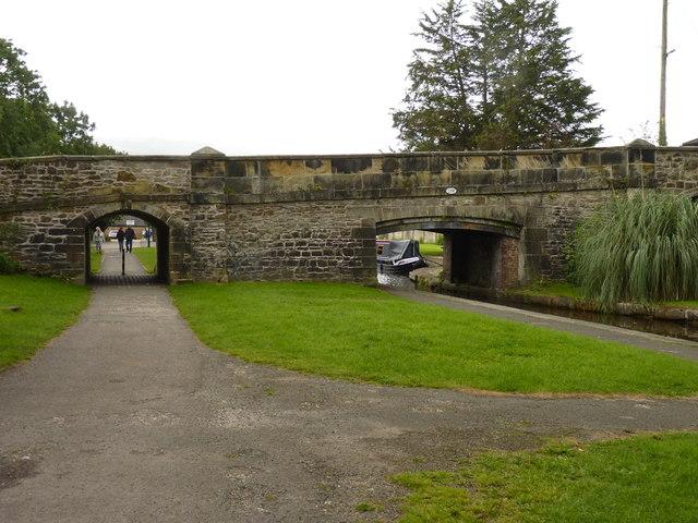 Ffordd Newydd Road Bridge
