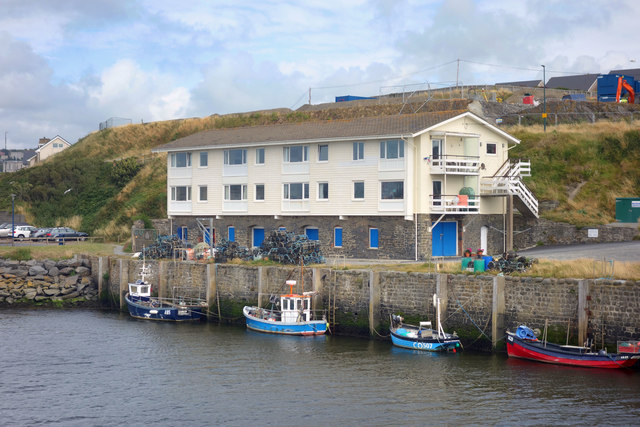 Part of Aberystwyth Harbour