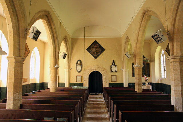 St.Swithin's nave