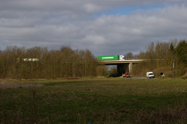 A14 viaduct north of Stowmarket