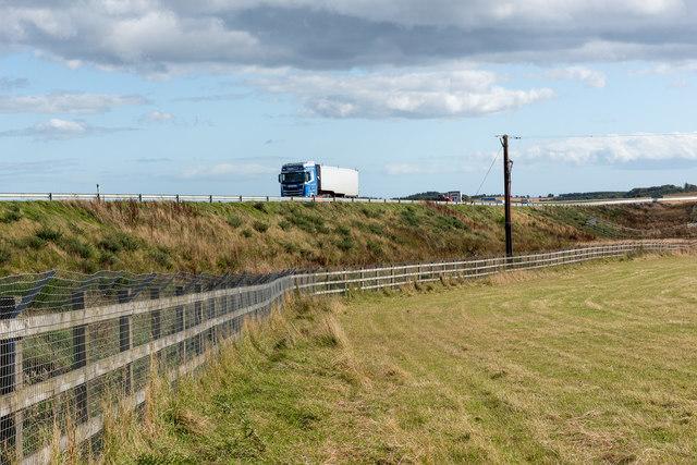 A90 near Crossley