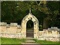 SK5453 : Newstead Abbey Gardens, Monks' Garden entrance by Alan Murray-Rust
