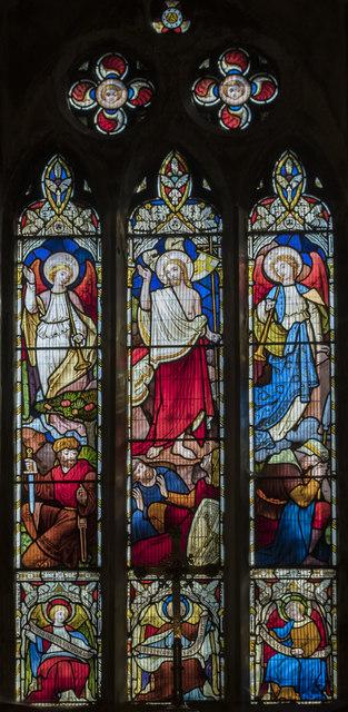 East Window, St Mary's church, Broughton