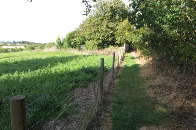 Footpath to the A6