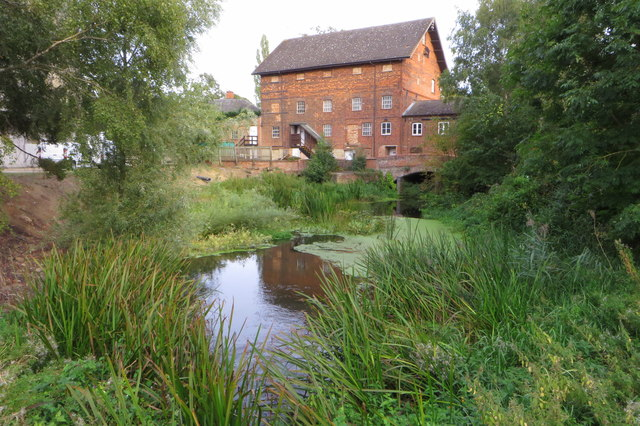 Stoke Mill Theatre and mill pond