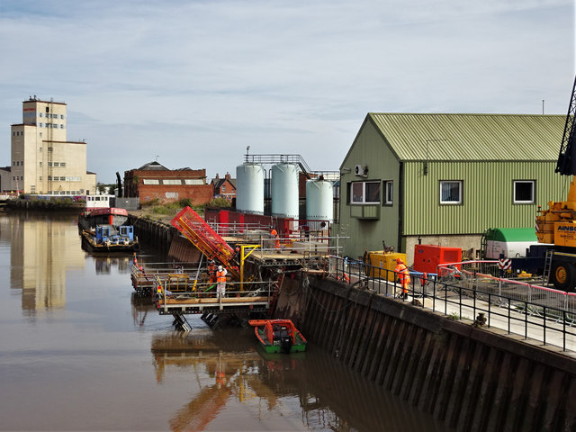 Old Harbour, River Hull, Kingston upon Hull
