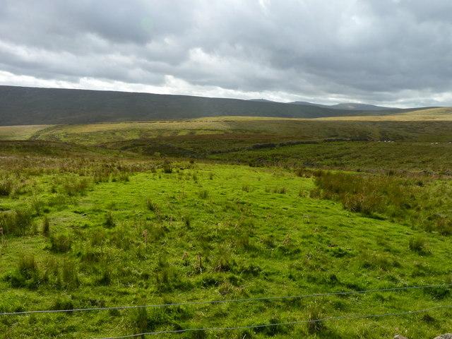 Moorland farmland