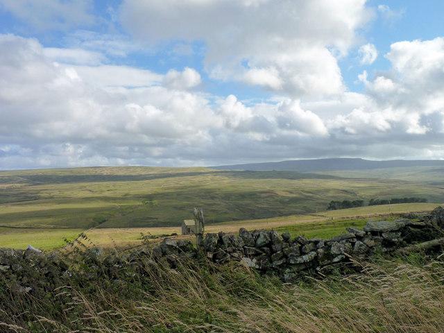 Moorland hills
