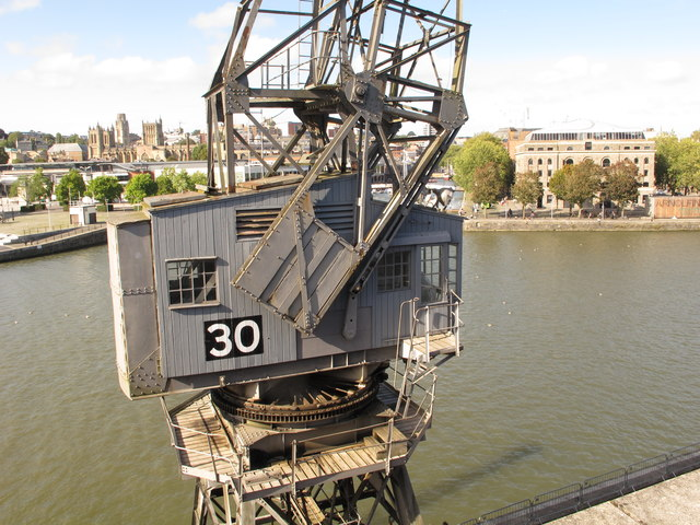 Crane 30 from M Shed, Bristol