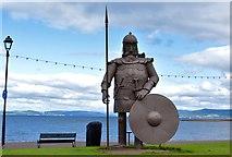 NS2059 : Magnus the Viking, Largs, North Ayrshire by Mark S