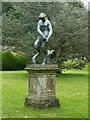 SK5453 : Newstead Abbey Gardens – statue of a female satyr by Alan Murray-Rust