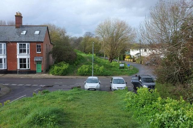 Town Walls and East Street, Wareham