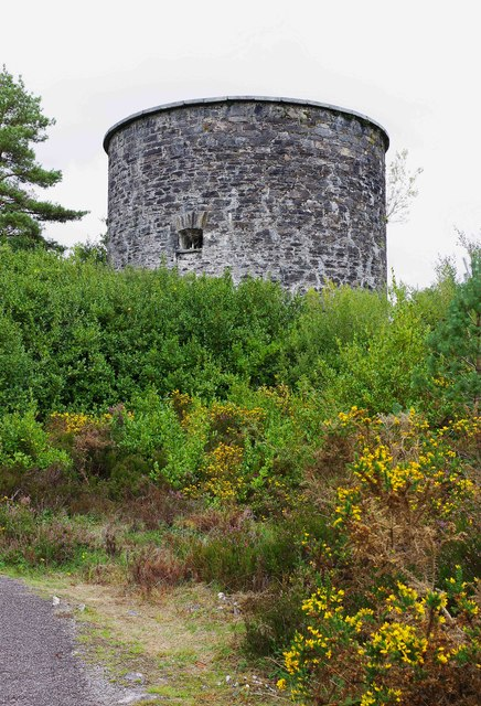 Ilnacullin/Garinish Island, Co. Cork - Martello Tower