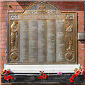 SD8400 : Manchester Corporation Tramways War Memorial - Queen's Road Depot by David Dixon