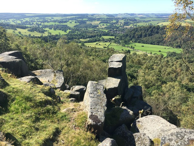 View from Gardom's Edge