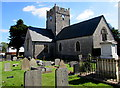 ST0168 : Grade I Listed St Tathan Church, St Athan by Jaggery
