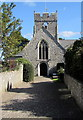 ST0167 : West side of St Tathan Church, St Athan by Jaggery