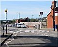 ST1166 : Zebra crossing on a hump, Station Approach Road, Barry Island by Jaggery
