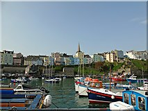 SN1300 : Tenby Harbour by AJD