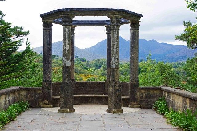 Ilnacullin/Garinish Island, Co. Cork - Grecian Temple