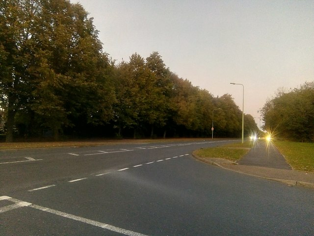 Junction of Symonds Road and Raedwald Avenue, Bury St. Edmunds