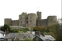 SH5831 : Harlech Castle by John Firth