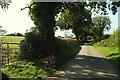 SX6153 : Lane to Ley Green by Derek Harper
