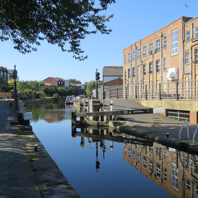 Reflections at Meadow Lane Lock