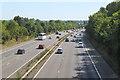 SK5106 : M1 traffic near Ratby by Jim Barton