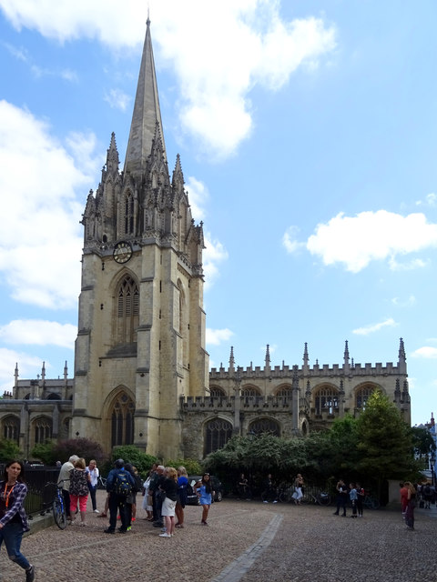 University Church of St Mary the Virgin, Oxford