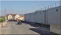 H9115 : Crossmaglen PSNI Barracks in Culloville Road by Eric Jones