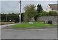 SO1073 : Ian Brimble's bench, Glan Dorddu, Llanbister by Jaggery