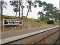 SO9525 : Cheltenham Race Course Station, Platform 2 by David Dixon