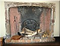 TG2208 : Strangers' Hall Museum  - Lady Paine's bedroom (fireplace) by Evelyn Simak