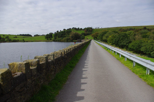 Earnsdale Reservoir dam