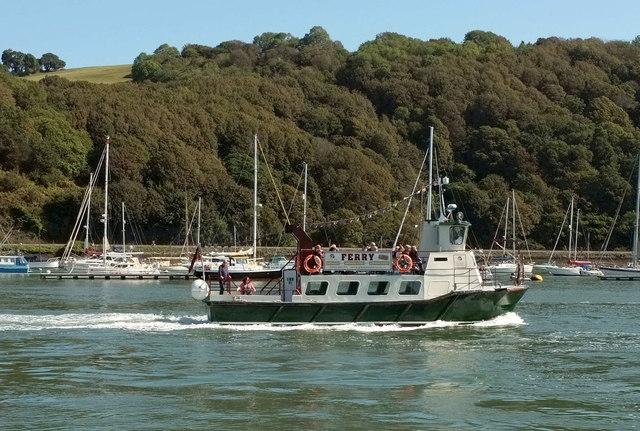 Dittisham - Dartmouth ferry