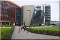 SK5803 : Vijay Patel Building, De Montfort University Leicester by Jim Barton