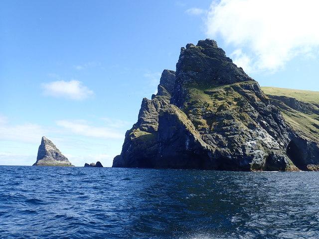Boreray cliffs